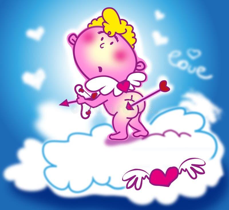 Cupid doce ilustração royalty free