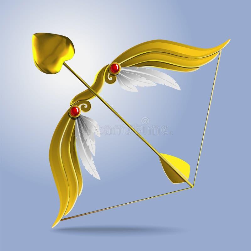 Cupid'sBow ilustração stock