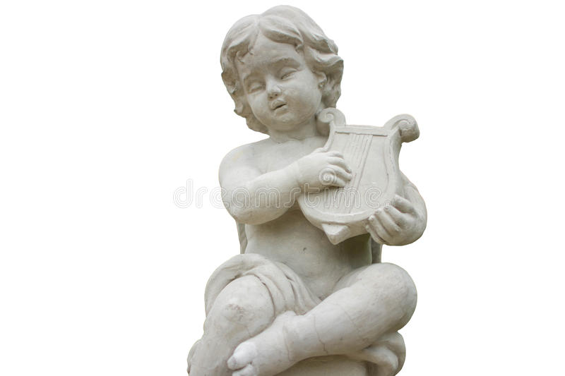Cupid of song royalty free stock photo