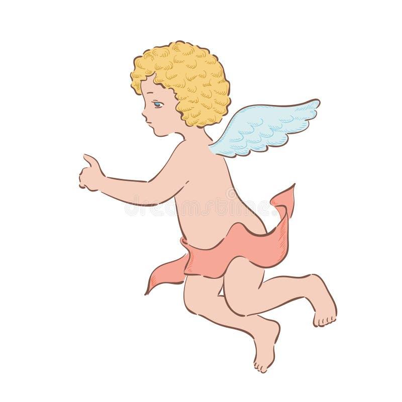 Cupido illustrazione di stock