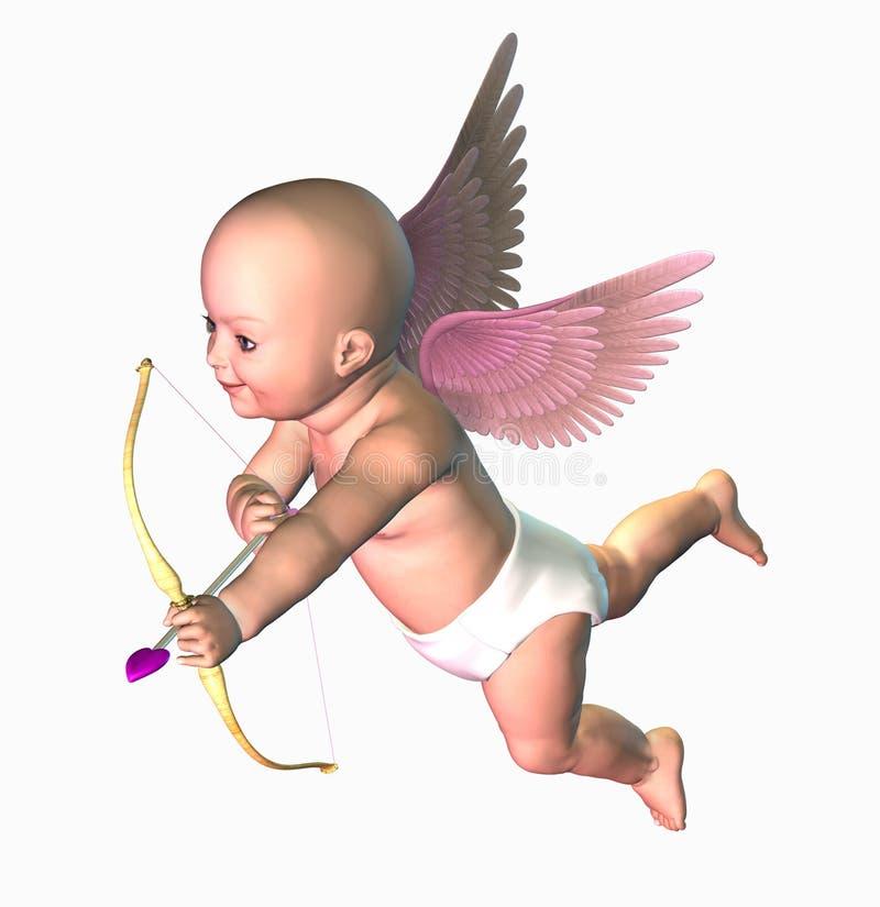 Cupido vector illustratie
