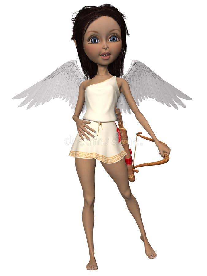 Cupido bonito ilustração do vetor