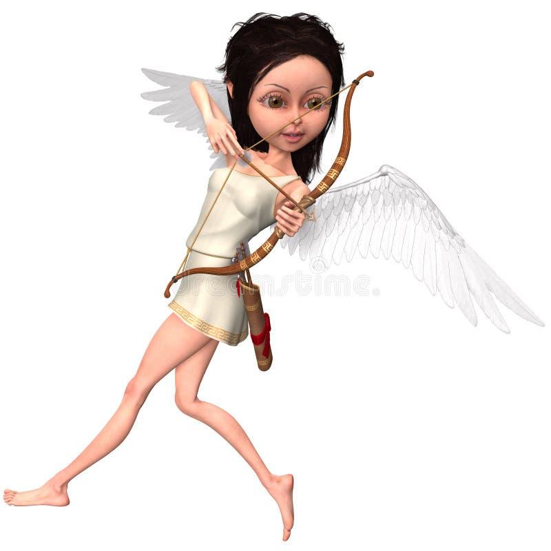 Cupido bonito ilustração royalty free
