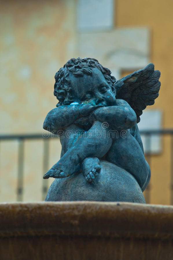 Cupido el día de fiesta fotografía de archivo