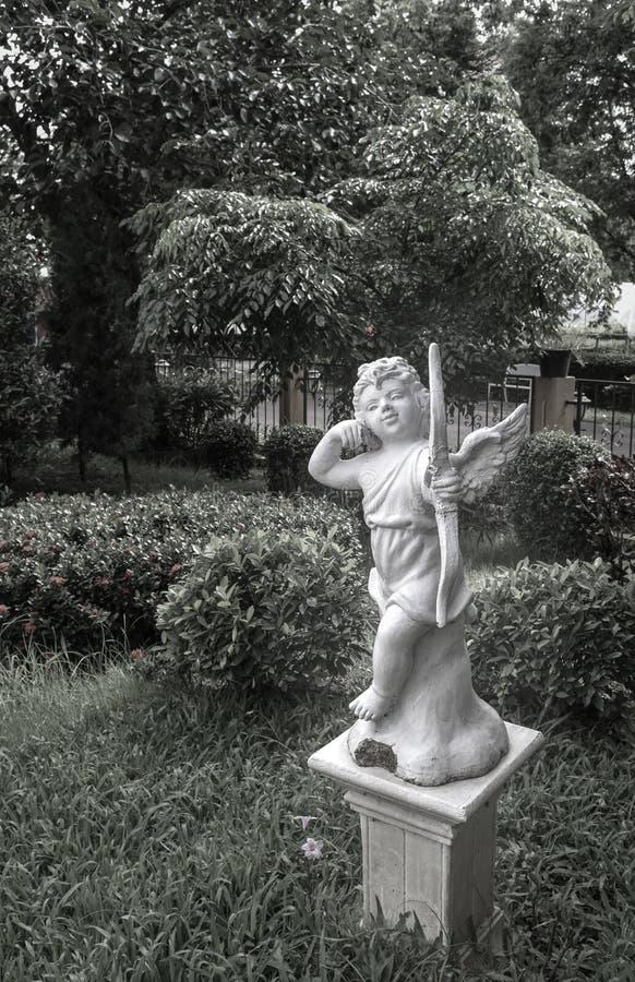 Cupido en el estilo del vintage foto de archivo