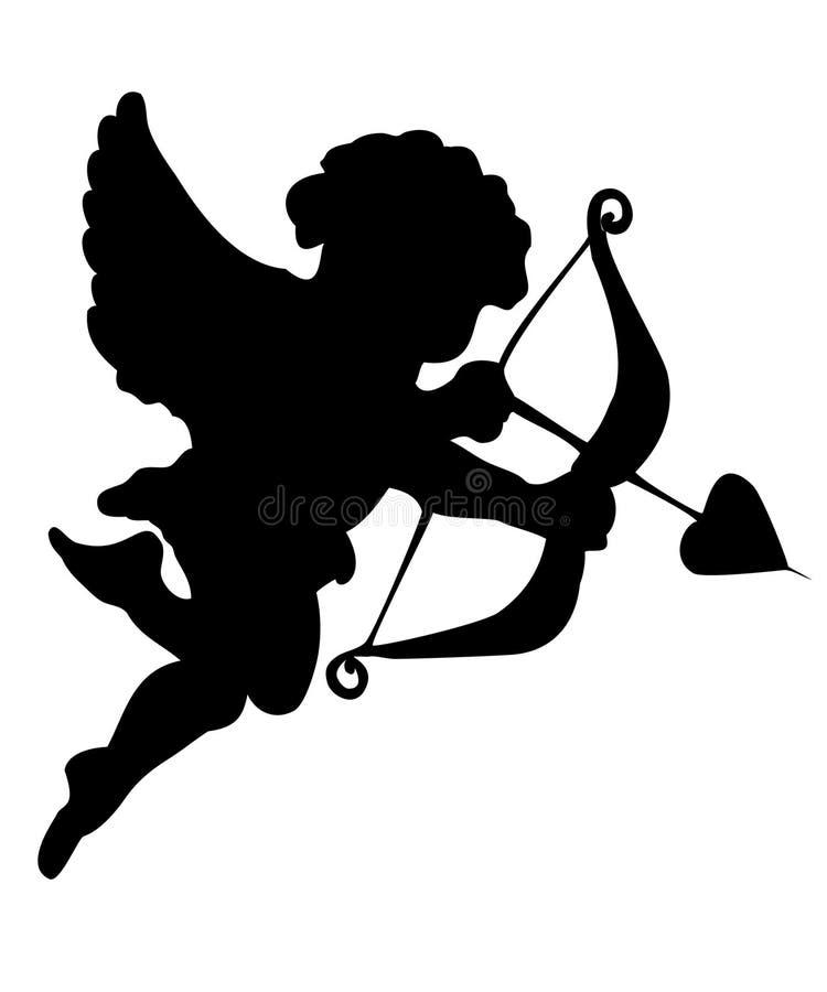 Cupidon illustration de vecteur