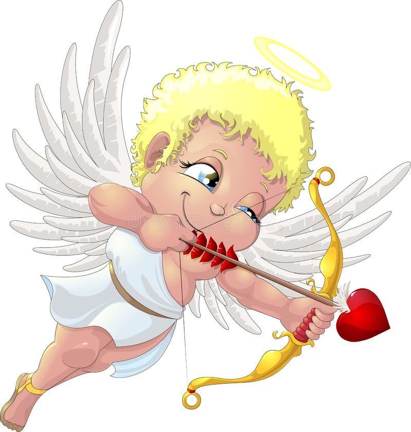 Cupidon illustration libre de droits