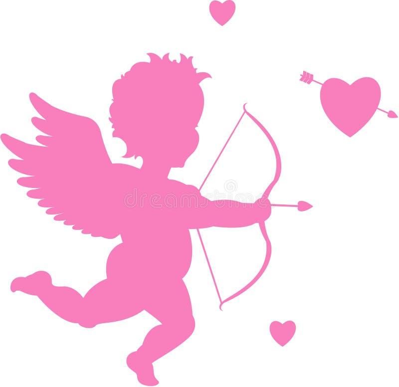 Cupidon de vecteur illustration de vecteur