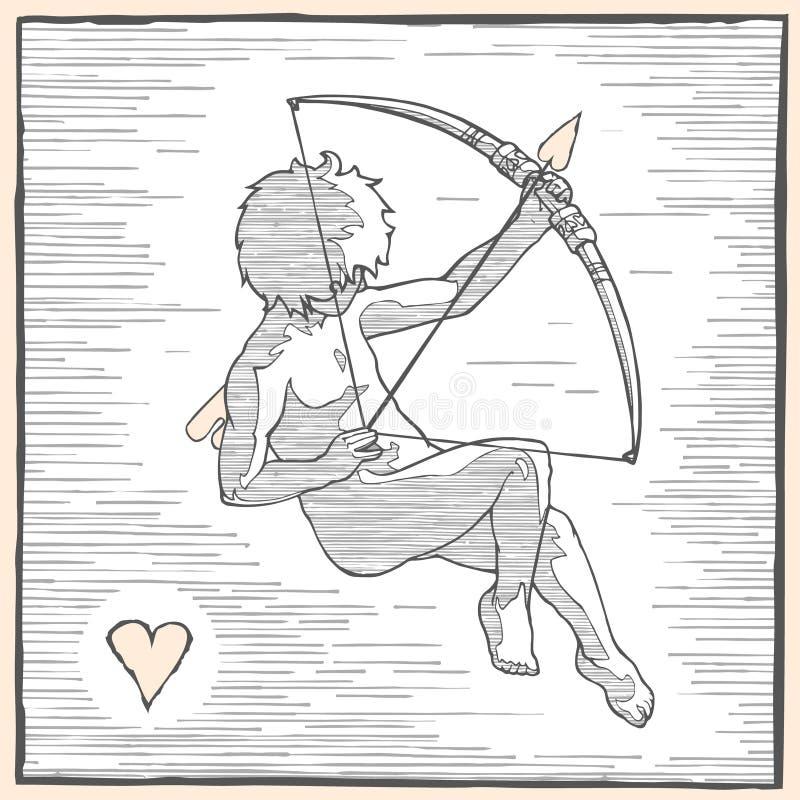 Cupidovoorzijde stock fotografie