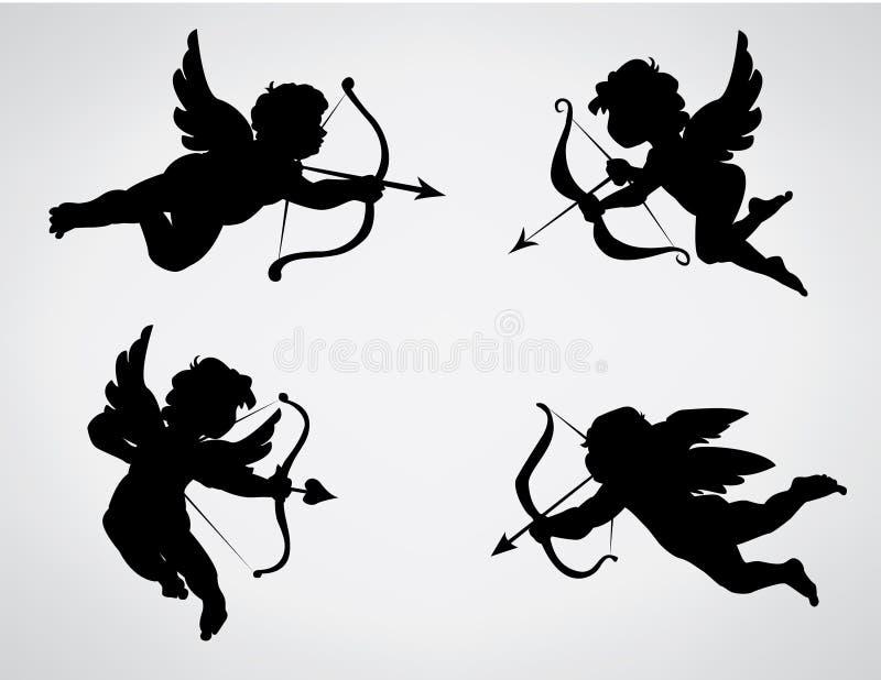 Cupids ilustração royalty free