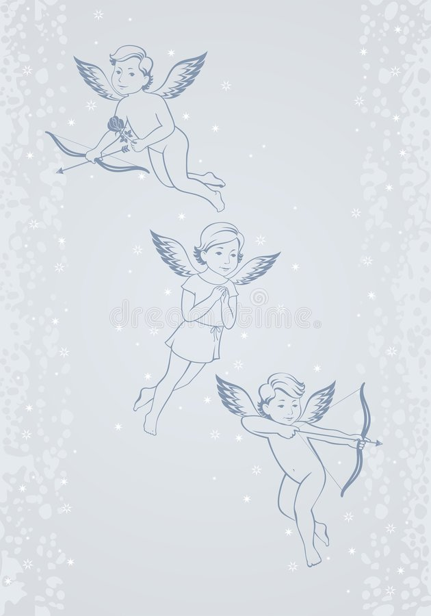 Download Cupids Royalty Free Stock Images - Image: 8078599