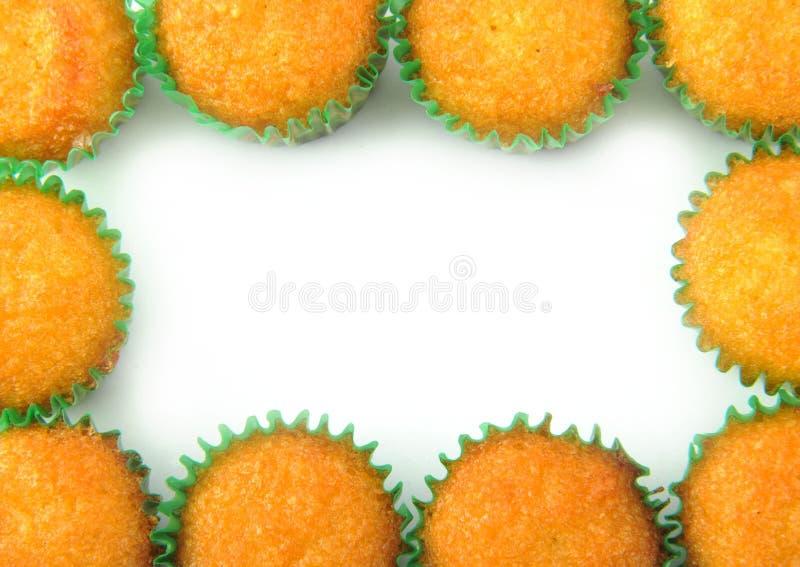 Cupkleiner kuchen stockfotos