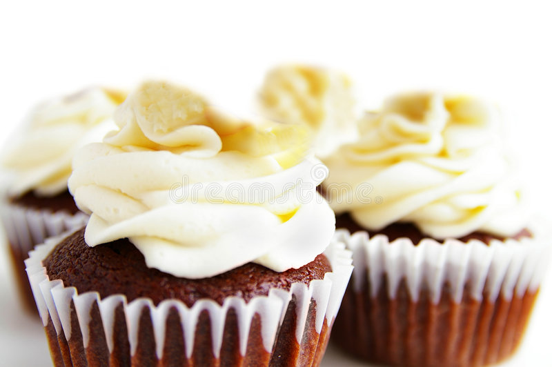Cupkuchen lizenzfreie stockfotos