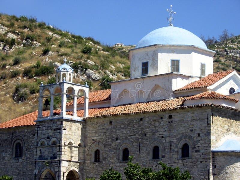 Download Cupola blu fotografia stock. Immagine di greco, cupola - 211100