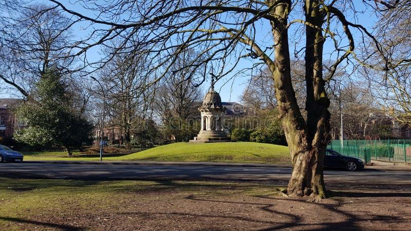 Cupola britannica 2018 della molla del parco di Pearson immagini stock libere da diritti