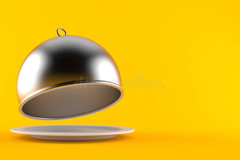 Cupola d'argento di approvvigionamento illustrazione vettoriale