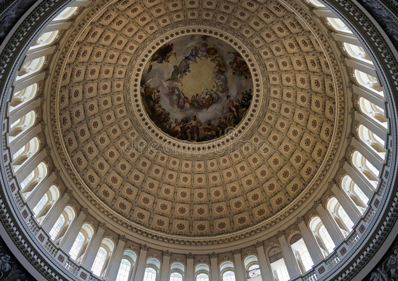 Cupola degli Stati Uniti Campidoglio fotografie stock