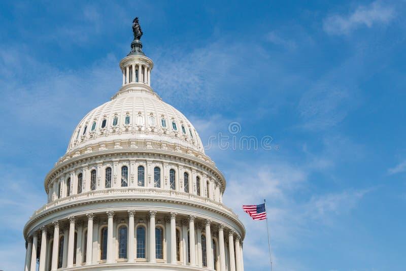 Cupola degli Stati Uniti Campidoglio S Campidoglio che costruisce in Washington, DC fotografia stock