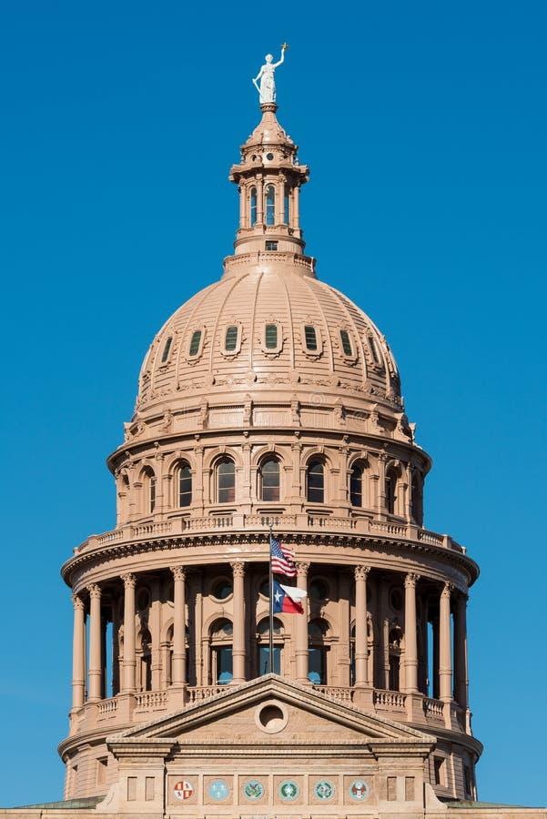Cupola del Campidoglio del Texas fotografie stock