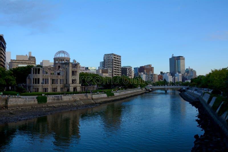 Cupola della bomba atomica, Hiroshima, Giappone fotografie stock