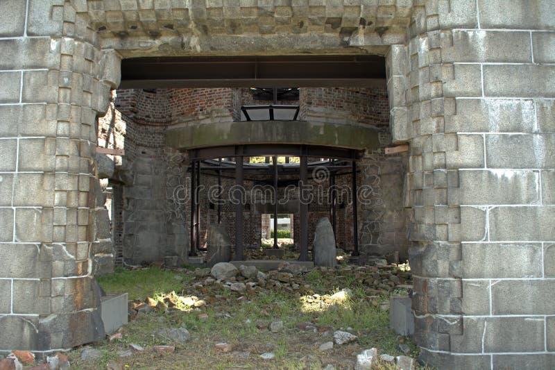 Cupola della bomba atomica, Hiroshima, Giappone fotografia stock libera da diritti