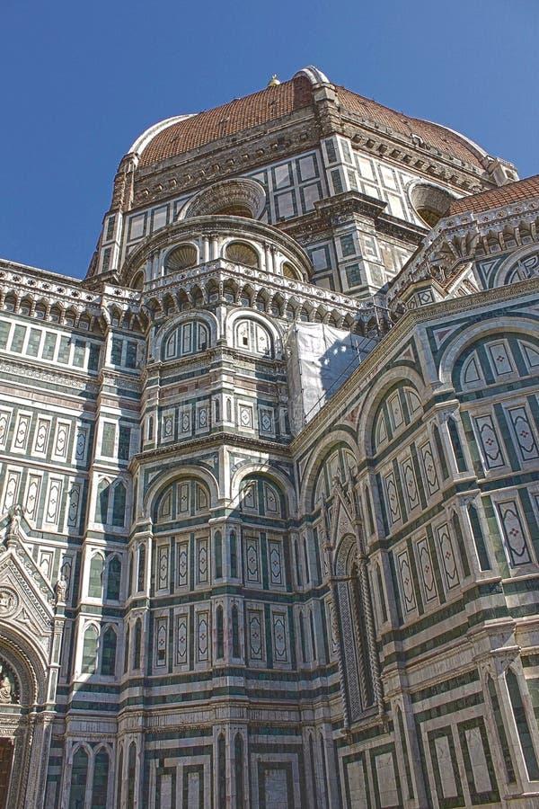 Cupola della cattedrale di Firenze, Italia fotografie stock