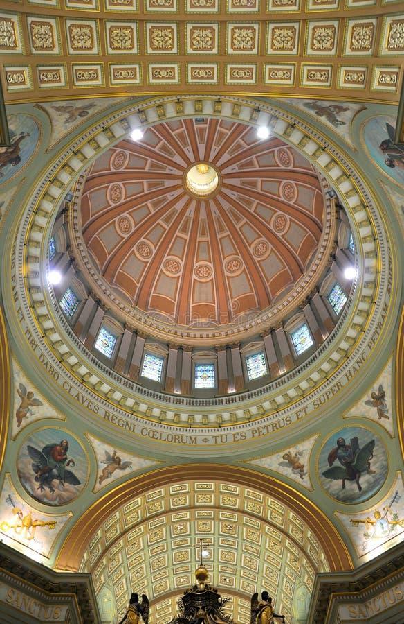Cupola della regina della Mary della cattedrale del mondo fotografia stock libera da diritti