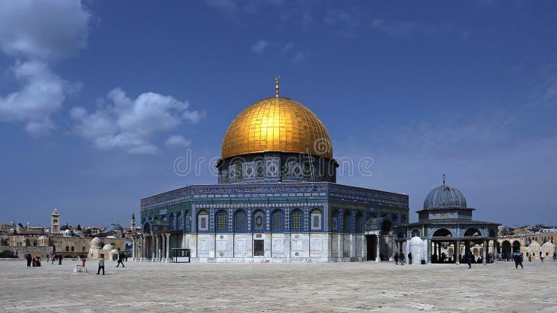 Cupola della roccia, Gerusalemme, Israele immagine stock libera da diritti