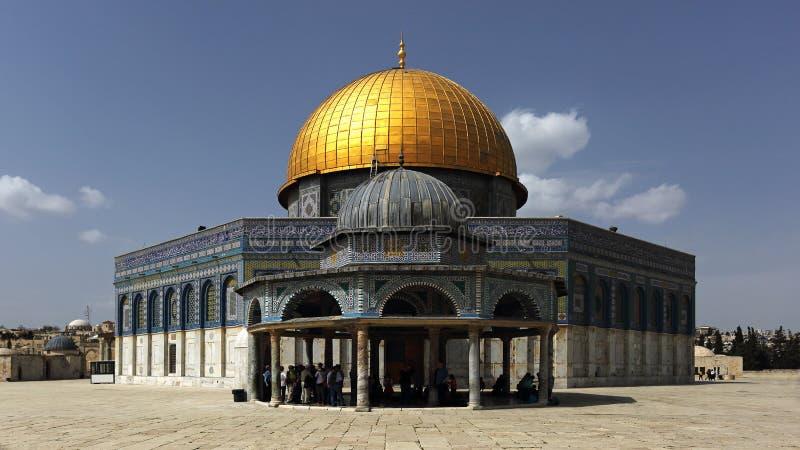 Cupola della roccia, Gerusalemme, Israele fotografia stock libera da diritti