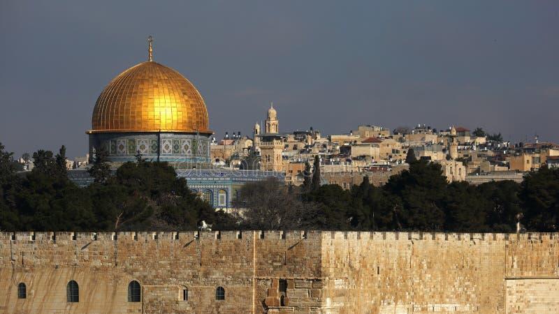 Cupola della roccia, Gerusalemme, Israele fotografie stock