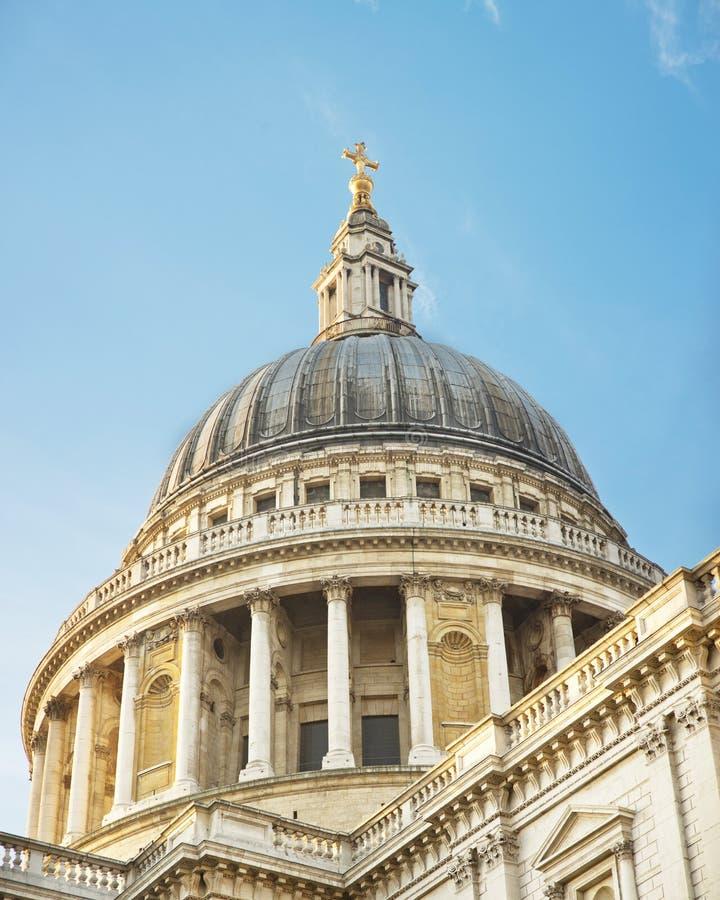 Cupola della st Paul, Londra fotografie stock libere da diritti