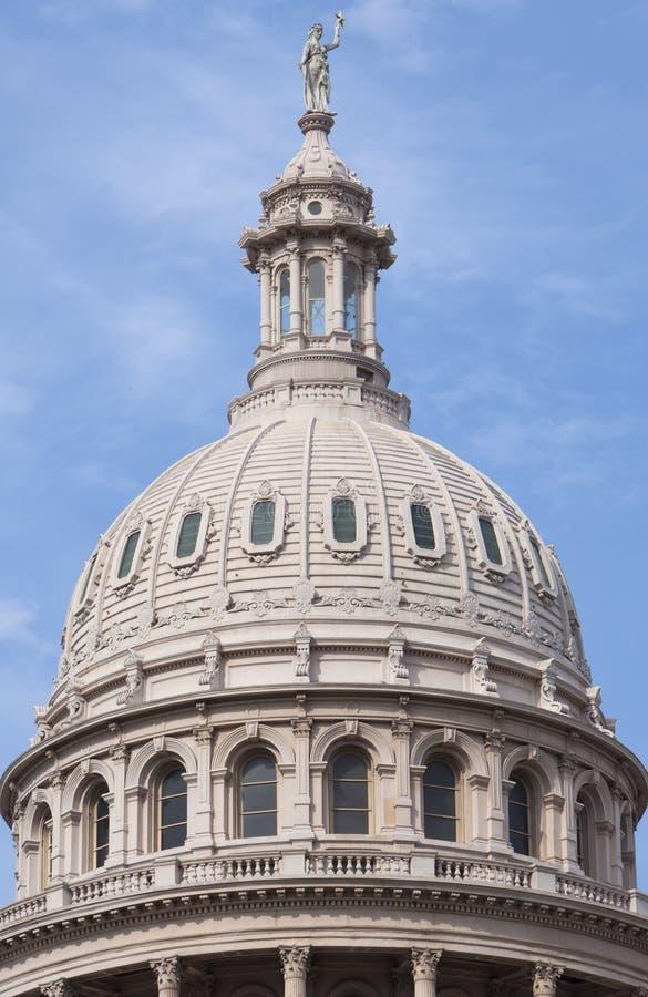 Cupola di Campidoglio della condizione del Texas fotografia stock libera da diritti