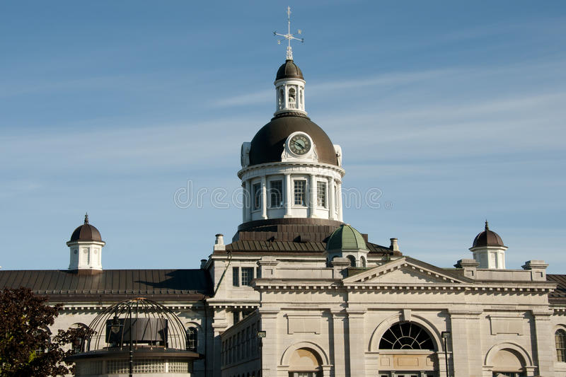 Cupola di Hall Town - Kingston - il Canada immagine stock