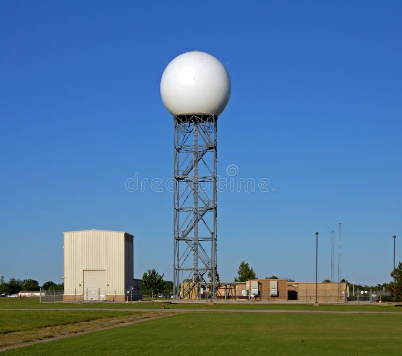 Cupola di radar di Doppler fotografia stock libera da diritti