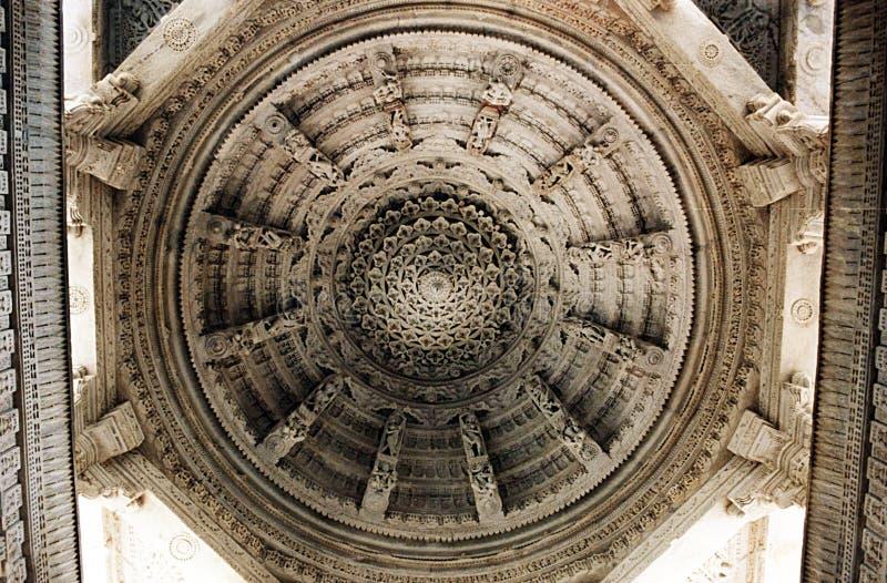 Cupola di Ranakpur fotografia stock libera da diritti