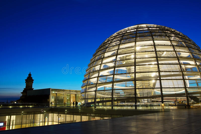 Cupola di Reichstag immagini stock