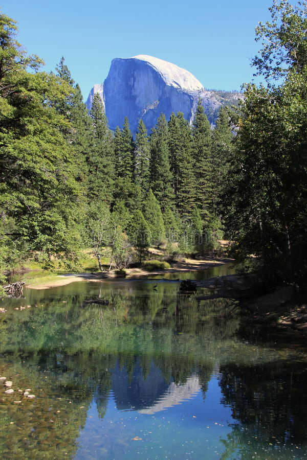 Cupola mezza, Yosemite fotografie stock libere da diritti