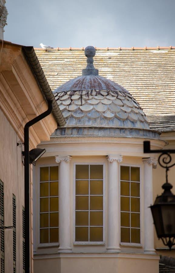 Cupola Oporto Maurizio nella provincia di Imperia immagine stock libera da diritti