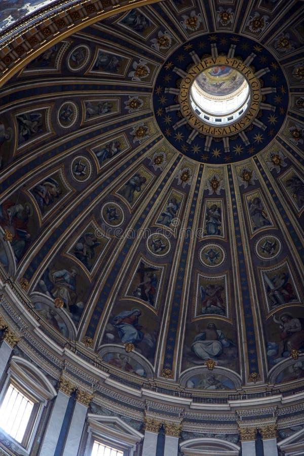 Cupola a Vatican immagini stock