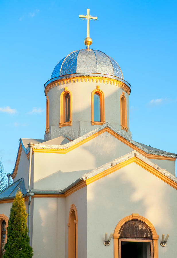 Free Cupola With Cross On The Top Stock Photos - 74466723
