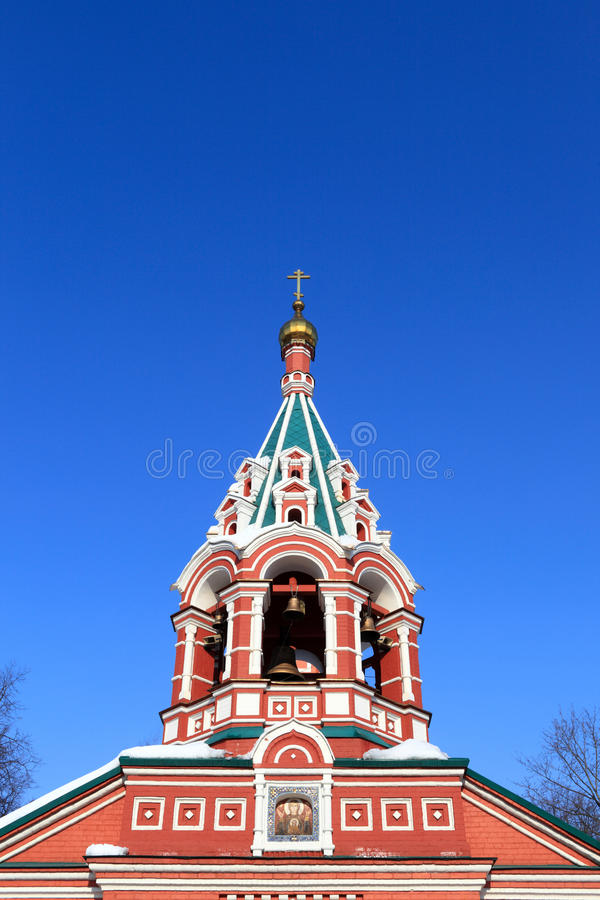 Download Cupola Of Znamenskaya Church Stock Photo - Image: 23788558
