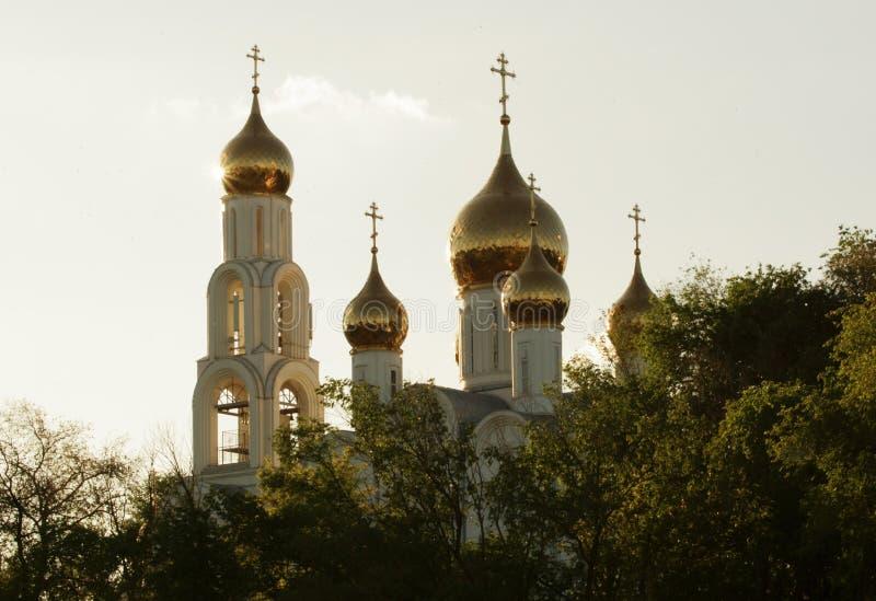 cupolas russia royaltyfri bild