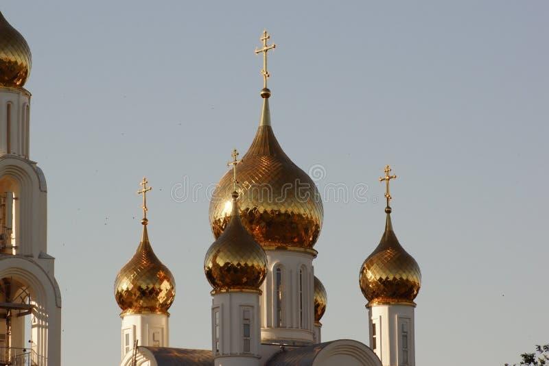 cupolas russia royaltyfri foto
