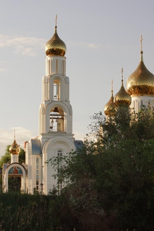 cupolas russia arkivfoto