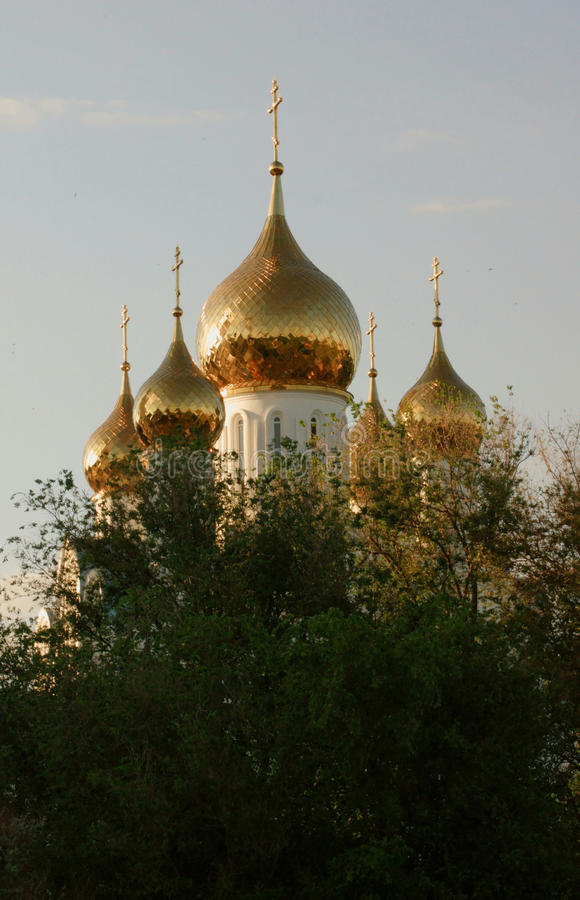 cupolas russia arkivfoton