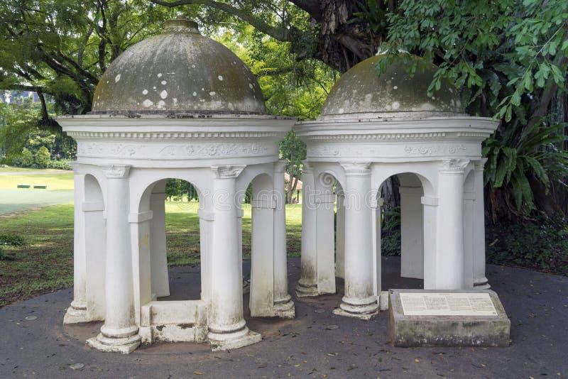 Cupolasna i Singapore royaltyfri foto