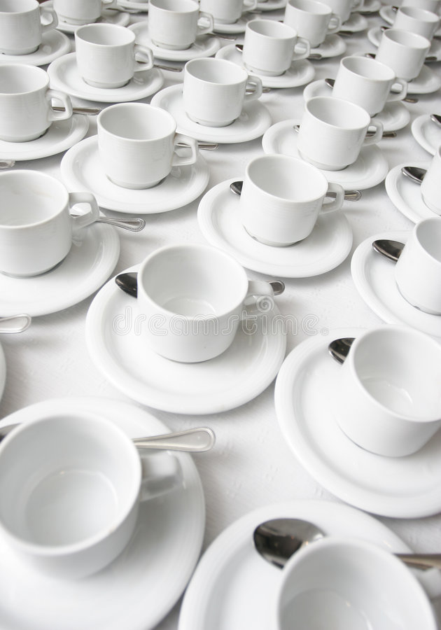 Free Cups And Saucers Royalty Free Stock Image - 2720306