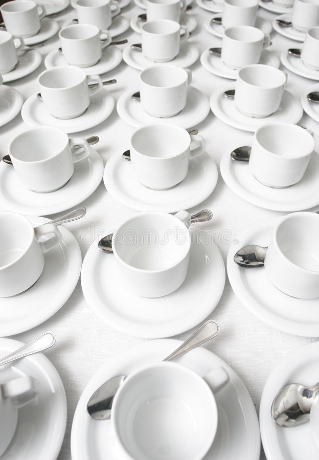 Free Cups And Saucers Stock Photography - 2720312
