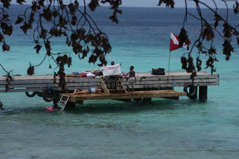 Curaçao, Westpunt lizenzfreie stockfotos
