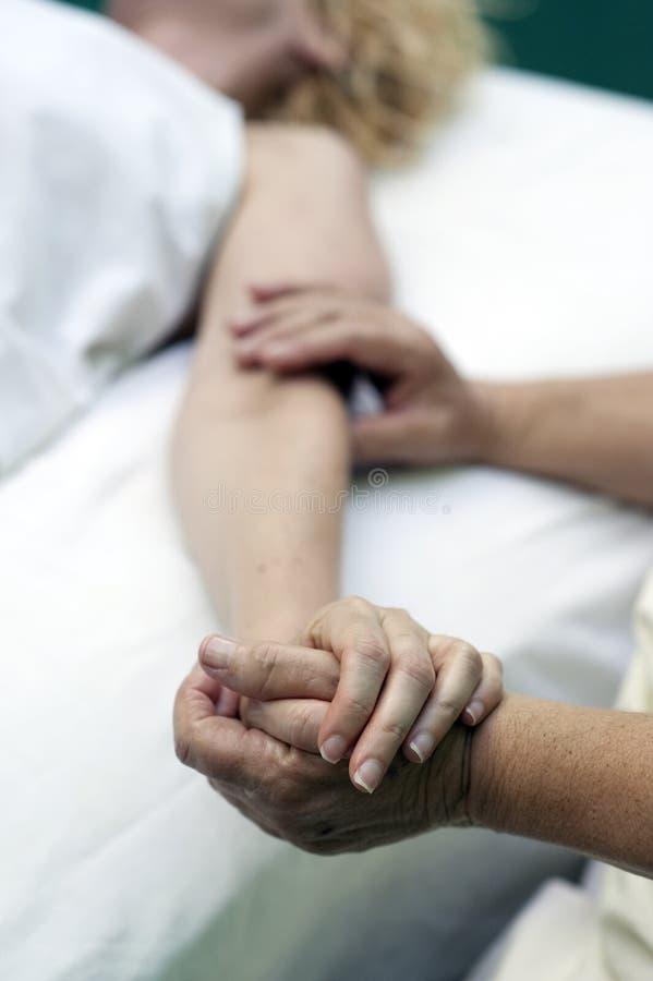 Cura del masaje foto de archivo libre de regalías